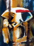 Abstract Ganesh Painting