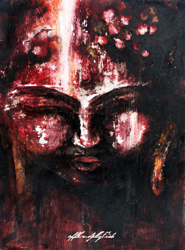 The Buddha by applevsjellyfish