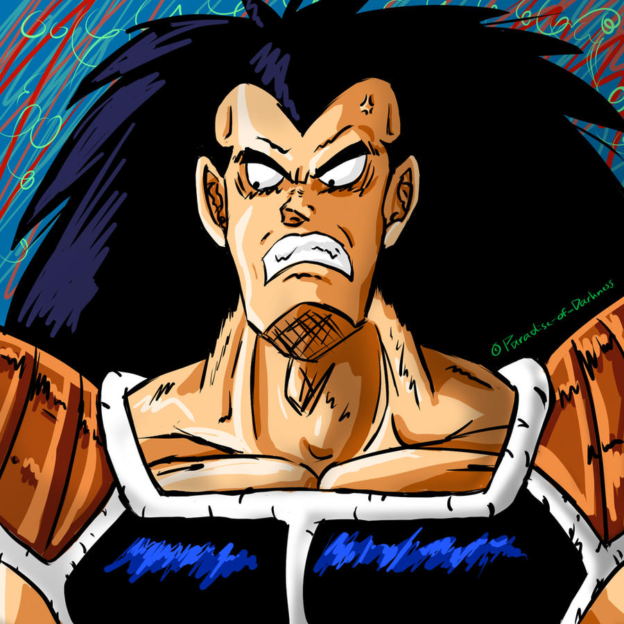 Angry Raditz - request by Paradise-of-Darkness