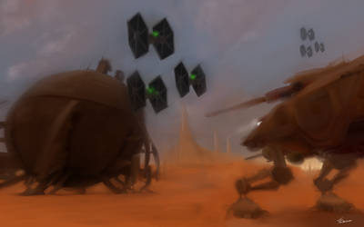 Starwars Geonosis - Tying up Loose Ends by fabman132