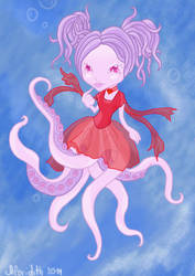 Little miss Octopus by Chloridith
