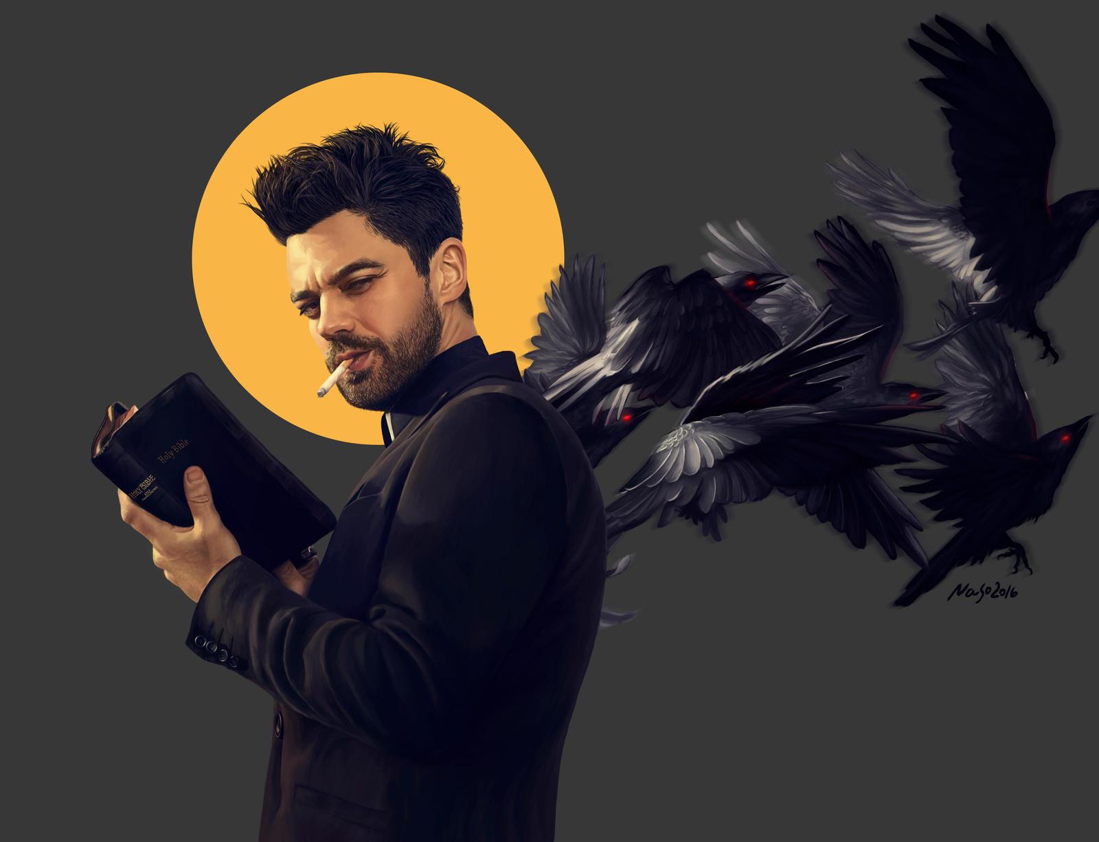 Preacher gray