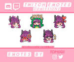 Emotes comissions done!
