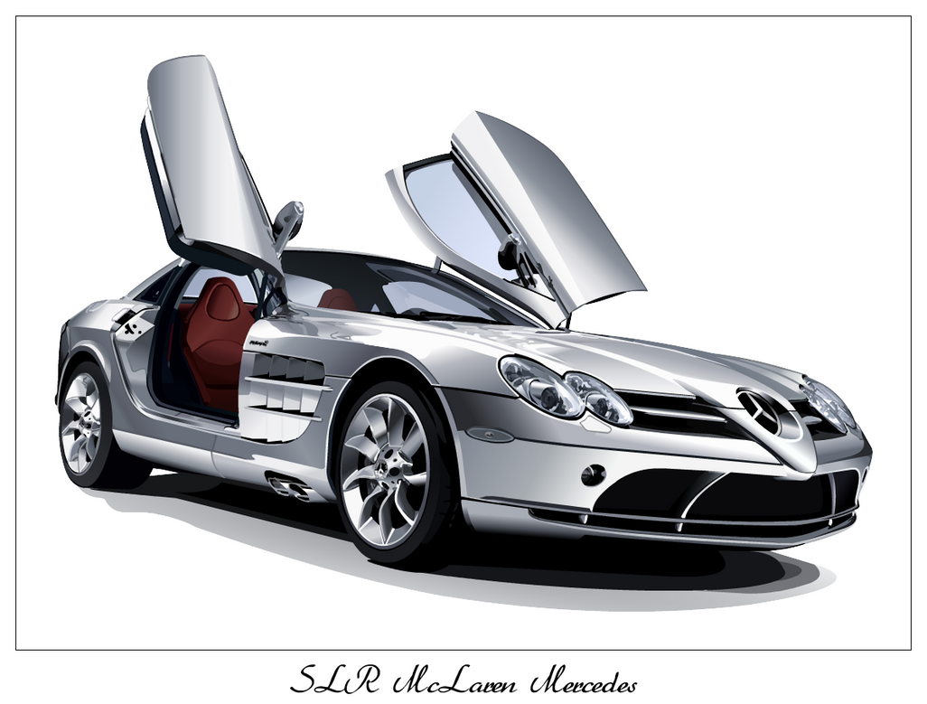 SLR McLaren Mercedes by taw