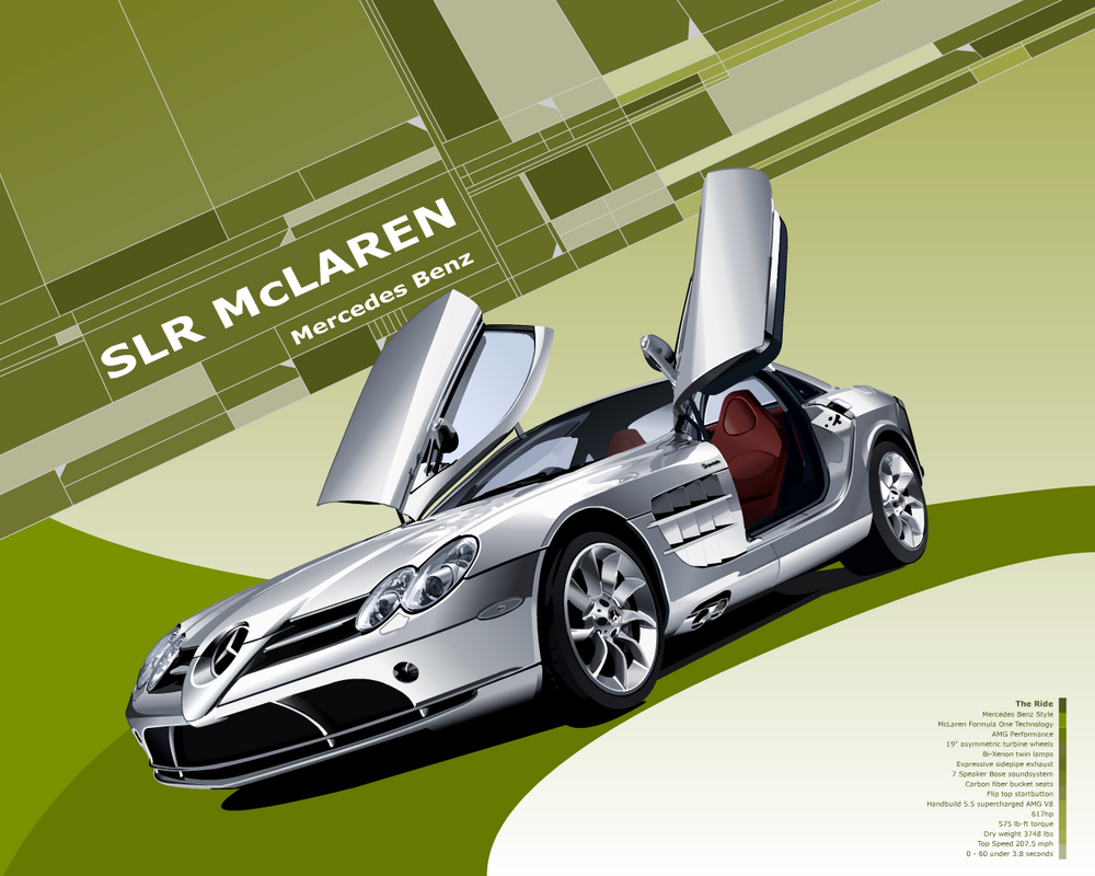 SLR McLaren Wallpaper by taw