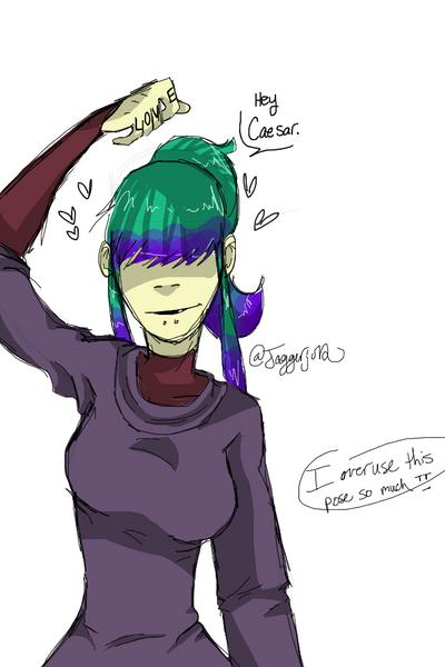 Ani is smitten for Cae  by Jaggerjo12