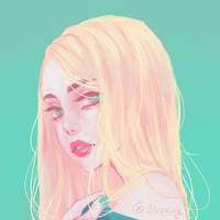 Blonde by 3lizzy
