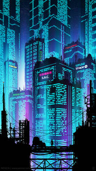 New Port City Phone by kvacm