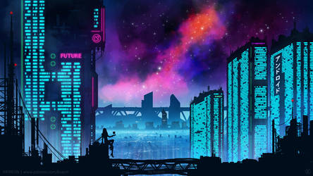 Neon City by kvacm