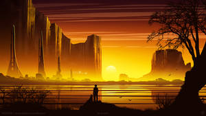 Canyon Cliff by kvacm