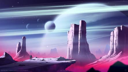 Pinket Moon by kvacm