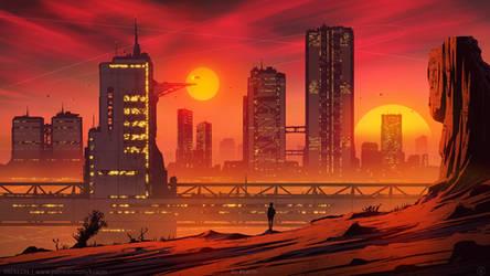 Duo Sundown by kvacm