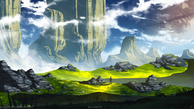 Rocky Grassland