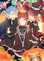 Commission: Pumpkin Night 2 by Ita-Ita-san
