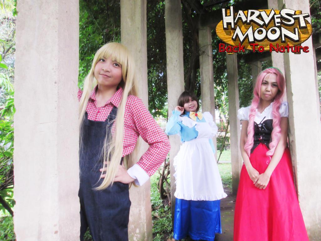 Harvest Moon: Back To Nature Girls 15 by YukitsuruKiria on