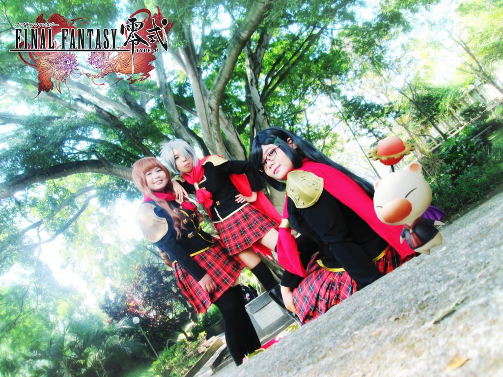 Final Fantasy Type-0 Girls 22 by YukitsuruKiria