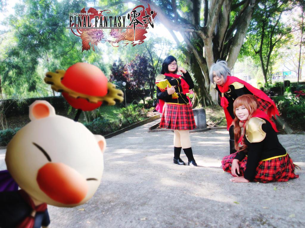Final Fantasy Type-0 Girls 23 by YukitsuruKiria