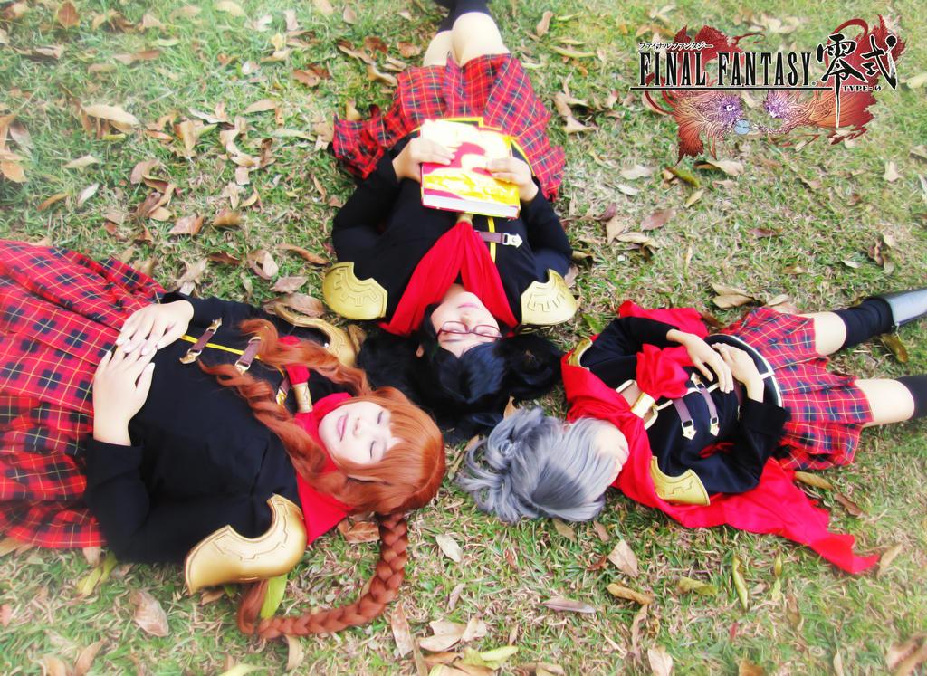 Final Fantasy Type-0 Girls 24 by YukitsuruKiria