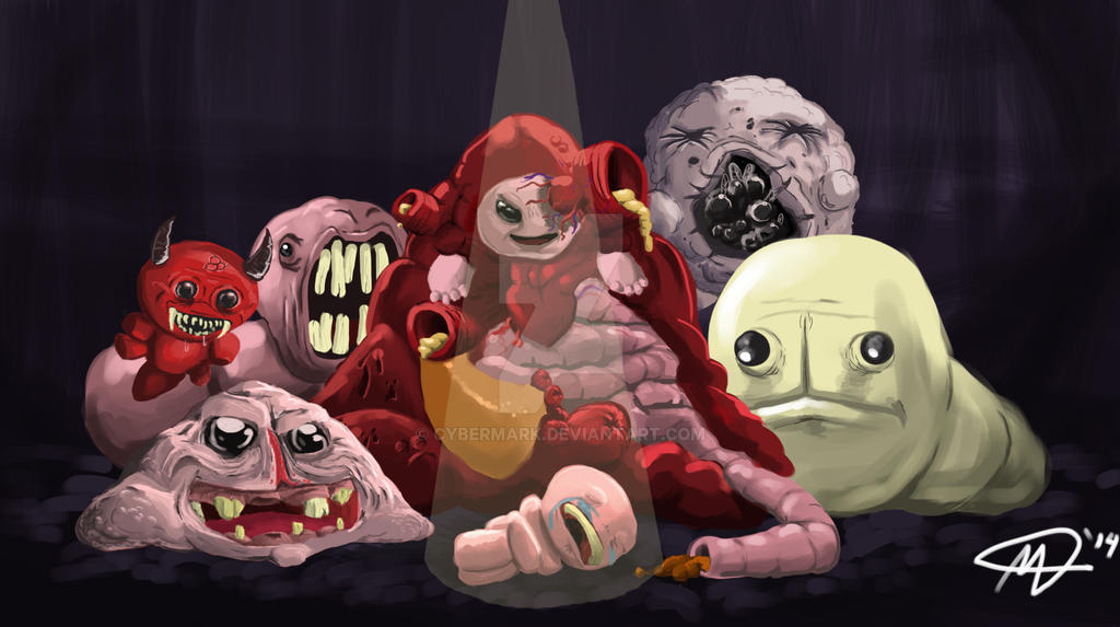 The Binding of Isaac by CostaRic