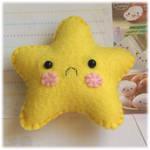 Sad Star Pincushion