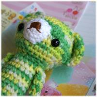 Green Bear Amigurumi by Keito-San