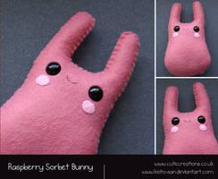 Raspberry Sorbet Bunny by Keito-San