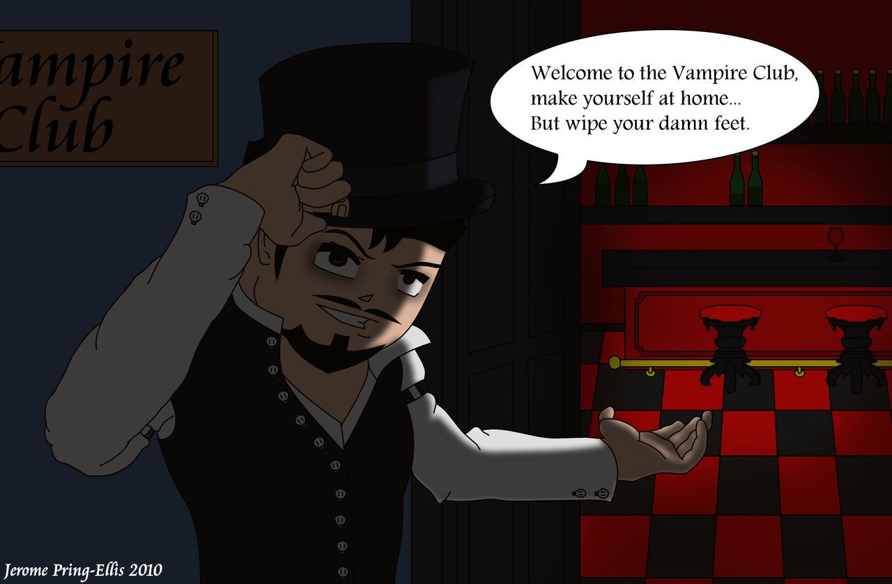 welcome to the vampire club by jerome1234 on deviantart. Black Bedroom Furniture Sets. Home Design Ideas