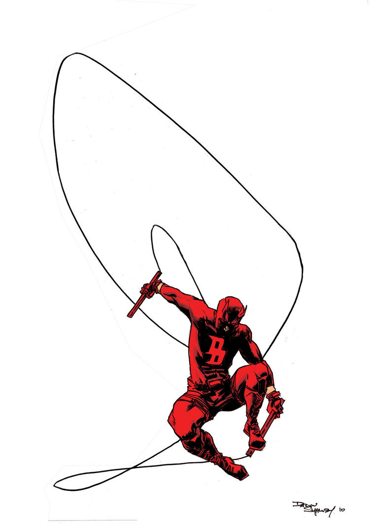 Daredevil Pin-up by DeclanShalvey