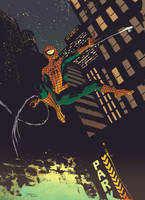 ULTIMATE SPIDEY colour by DeclanShalvey