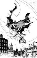 BATMAN and ROBIN by DeclanShalvey