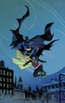 BATMAN and ROBIN colour