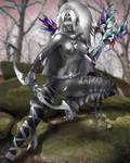 Girls of Planescape - Qiri by Maelora69
