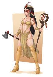 Shadows of Brimstone: Dragon Empires Leah by Maelora69