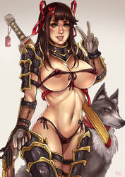 Forbidden Fortress: 'Princess' Kyoko (SFW) by Maelora69