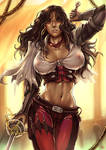 Valley of the Serpent Kings: Red Lucy (SFW) by Maelora69