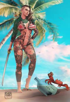 Tanned in the Tropics: Yuki (SFW)