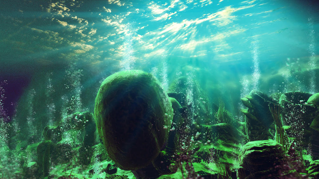 No Man's Sky-Underwater by Nimajination-Studios