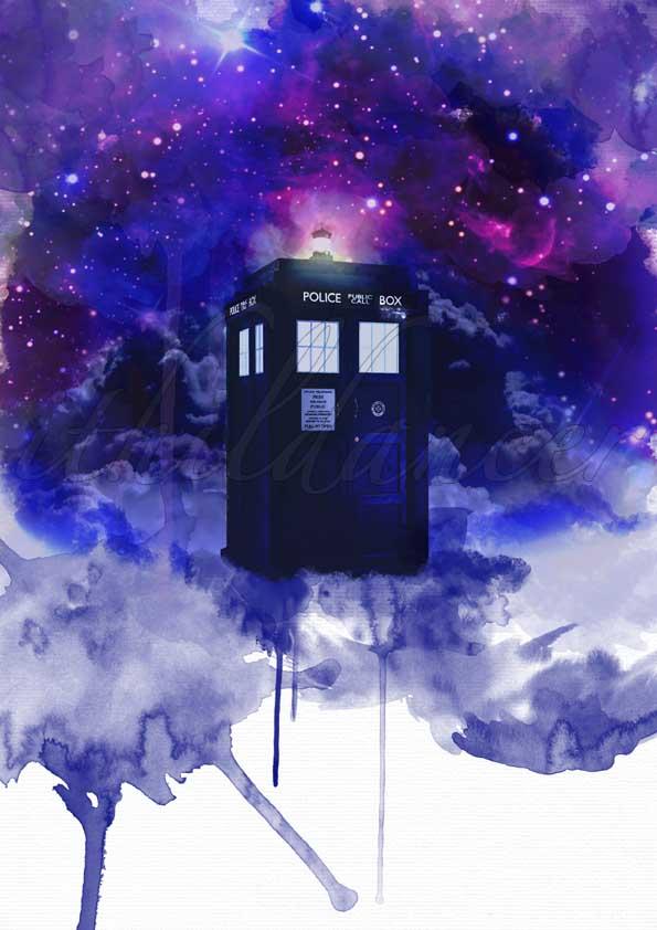 TARDIS by ithildancer