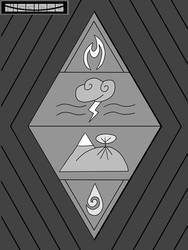Four Elements Vertically