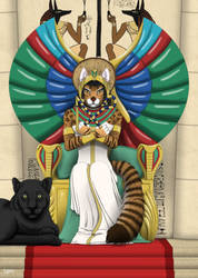 Queen Of Egypt by RHCP-Cream