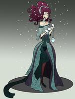 Jouel Evening Wear for Miss OC by Ombre-de-clause