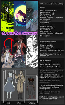 Clauses Commissions