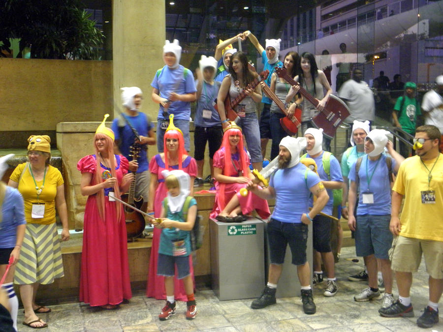 Otakon 2011 - Adventure Time by mugiwaraJM