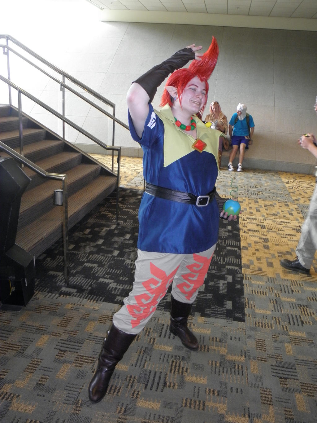 Otakon 2012 - Groose by mugiwaraJM