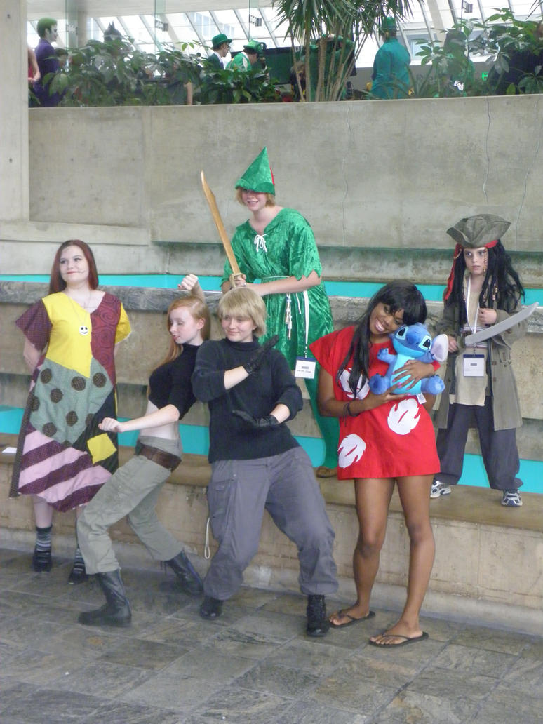 Otakon 2012 - Disney Miscellaneous by mugiwaraJM