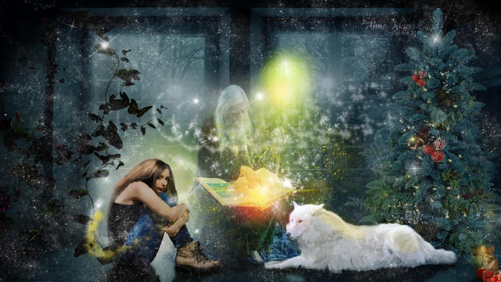 Christmas Transistion Magic by slickchic