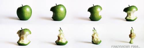 fascination fruit: green apple by moonshadowgirl