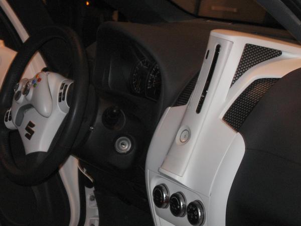 Xbox 360 Car Front Interior