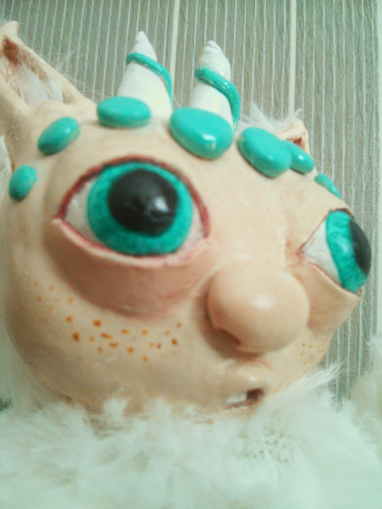 Yeti Detail Face by EcstaticDismay