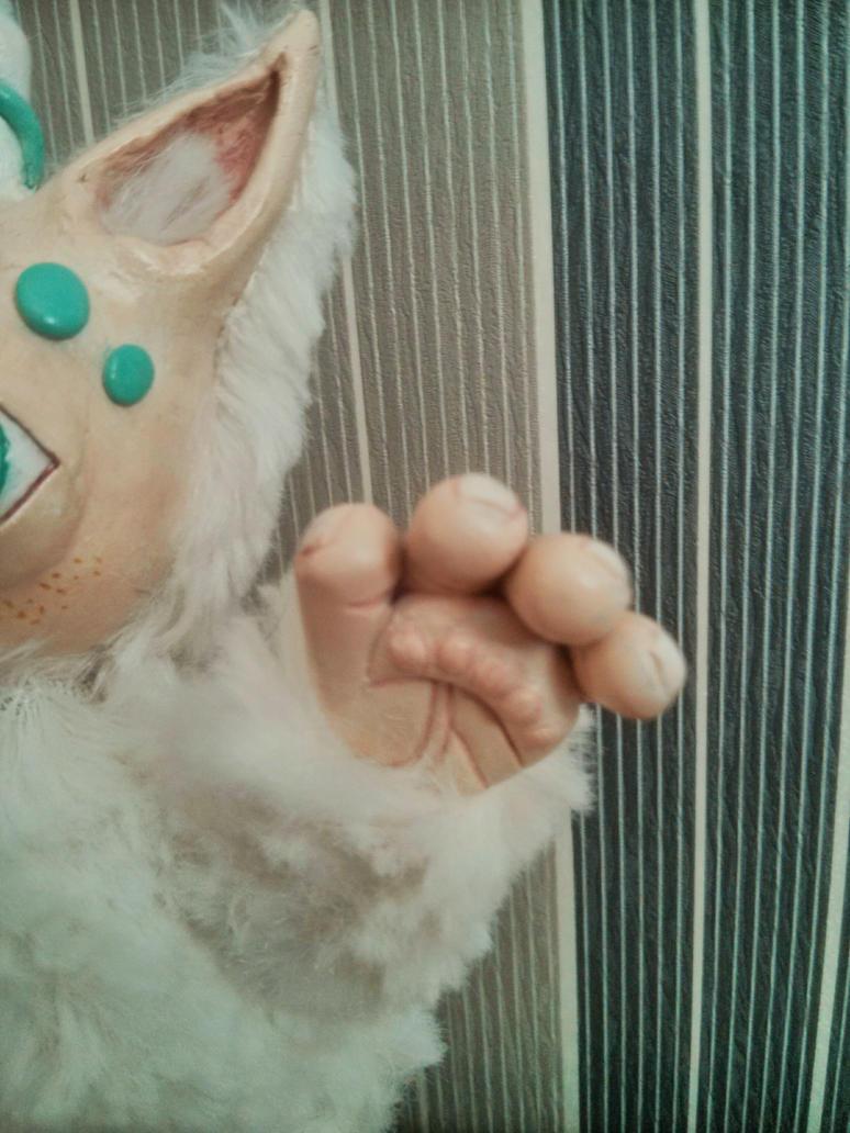 Yeti Detail Hand by EcstaticDismay
